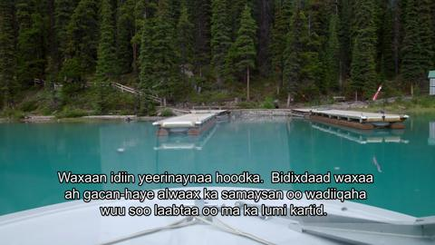 Episode Twelve – Maligne Lake Spirit Island Cruise (Somali)