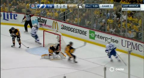 Stanley Cup Playoffs Eastern Conference Final Game 1 Tampa Bay Vs. Pittsburgh – 13, May 2016