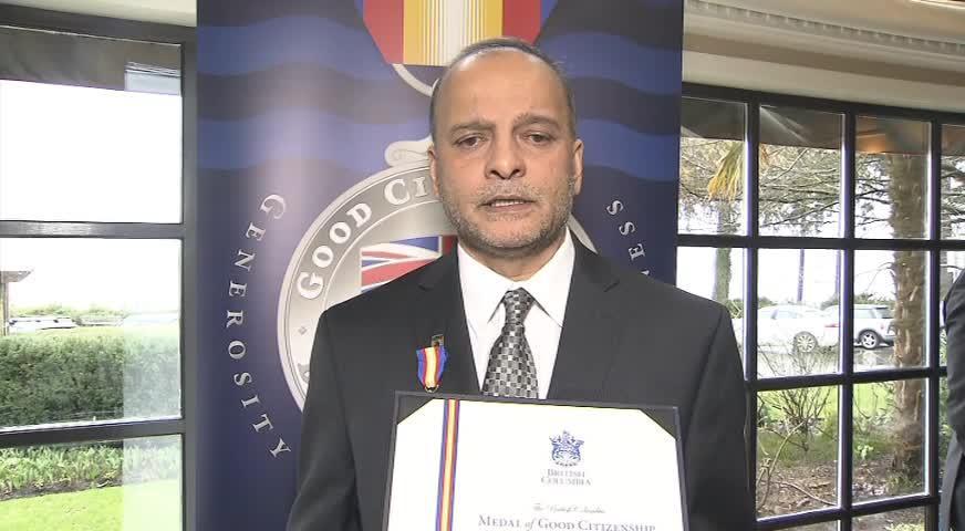 Omni Punjabi – Sahib Thind Good Citizen Award – 21, March, 2017