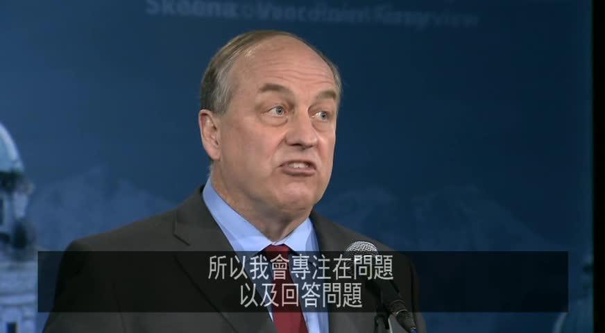 省選前最後一場黨領辯論 – April 27, 2017 (B.C.)