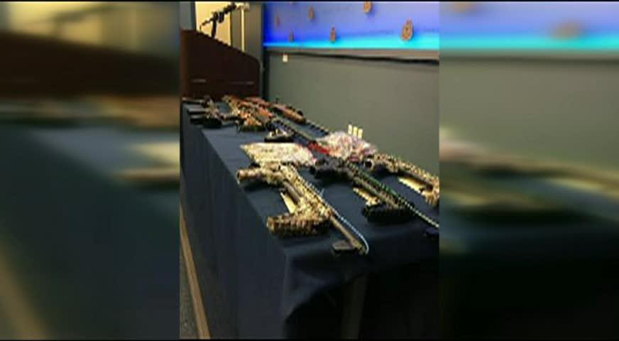 温市警方行动起出武器和毒品,四人被捕-AUG 16, 2017 (BC)