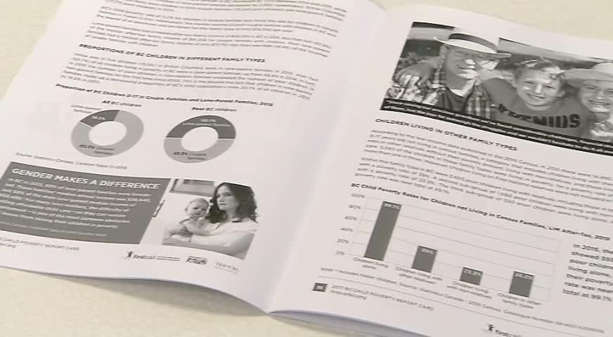 新报告指本省贫困儿童超15万,促请政府落实解决措施-NOV 21, 2017 (BC)