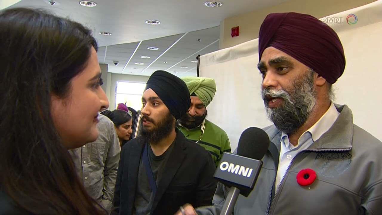 Harjit Sajjan pays tribute to Sikh military history