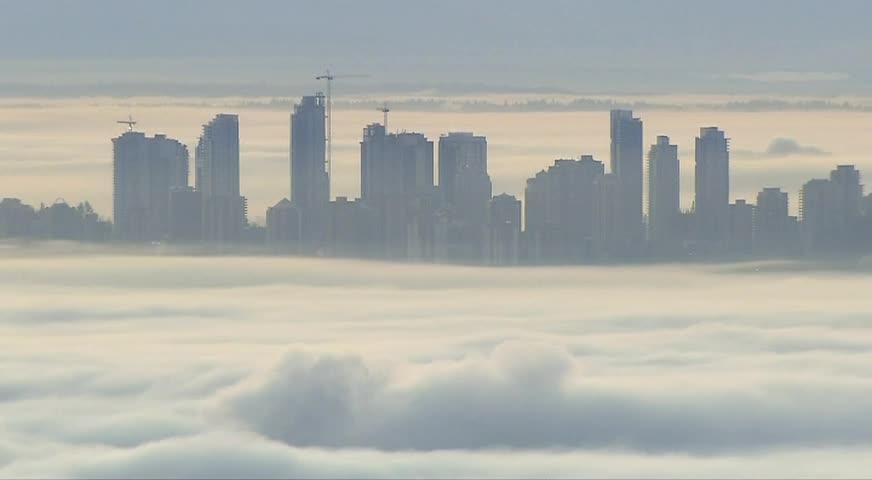 环境部对大温发出大雾警告-DEC 07, 2017 (BC)