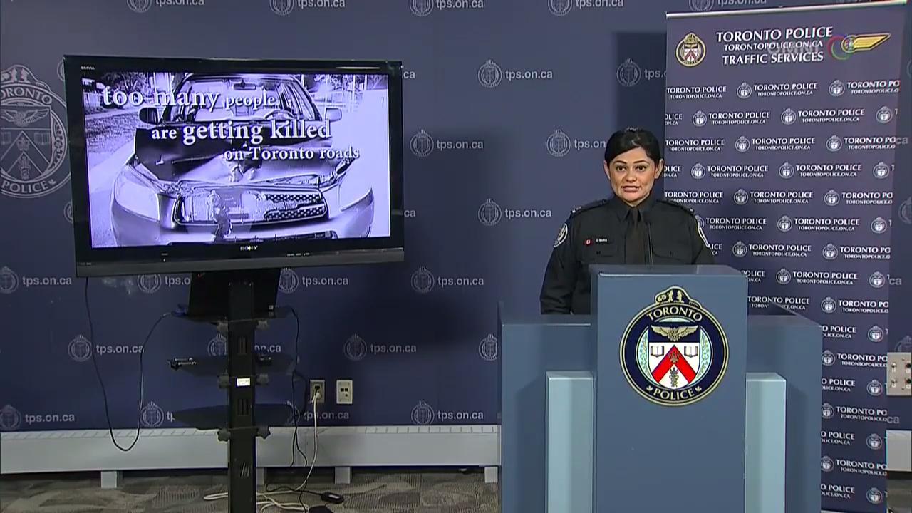 行人意外频繁,多伦多警方启动行人安全宣导 – Jan 16, 2018 (ON)