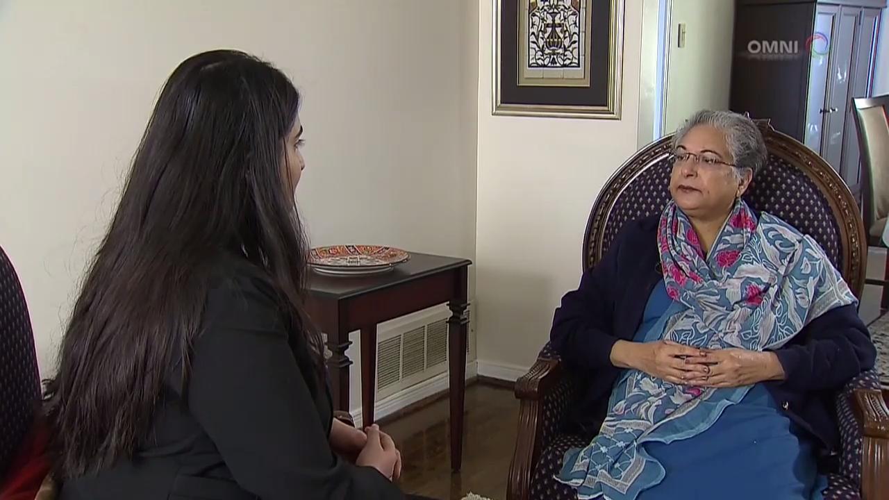 Hina Jilani in Toronto, part 2
